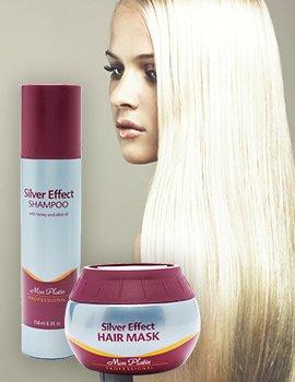 Для светлых и седых волос