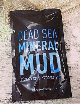 Вода, соль, грязь Мёртвого моря