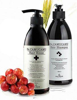 Уход за волосами с ягодами каму-каму Dr.Camu Camu