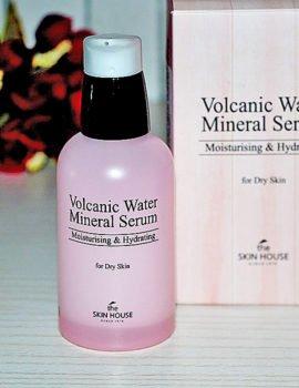 Моментально увлажняющая косметика с вулканической водой