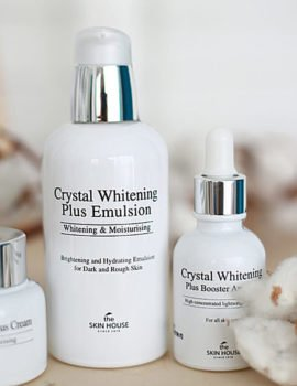 Осветляющая косметика Crystal Whitening