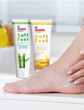 Пилинги и скрабы для ног